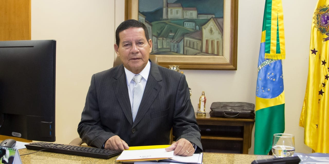 MEET THE NEXT PRESIDENT OF BRAZIL, HAMILTON MOURÃO